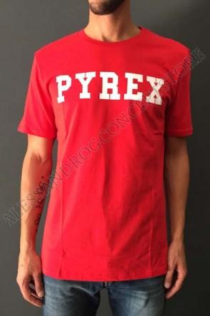 T-SHIRT PYREX ROSSA